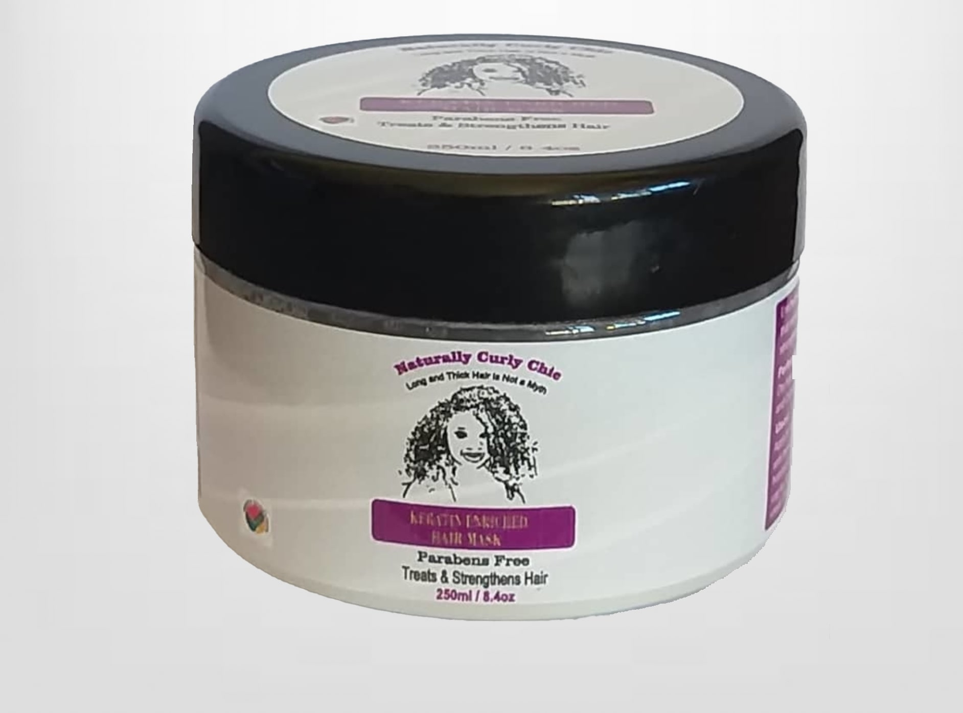 Keratin Enriched Hair Mask | Naturally Curly Chic